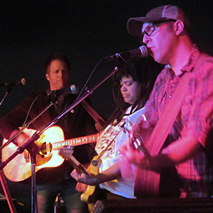 G.S. Harper, Mary Cutrufello & Brent Kirby perform at the Beachland Tavern
